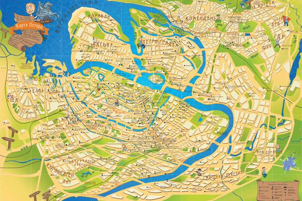 У Петербурга появилась неформальная карта. Изображение №1.