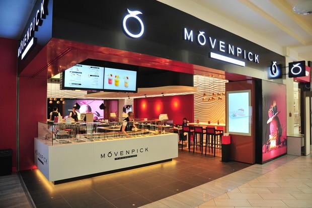 В «Атриуме» открылось бутик-кафе Mövenpick. Изображение №1.
