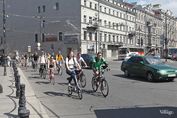 Фоторепортаж: Велопробег «За велогород». Изображение № 7.