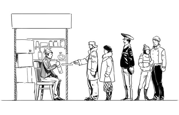 Как всё устроено: Продавец в ларьке. Изображение № 3.