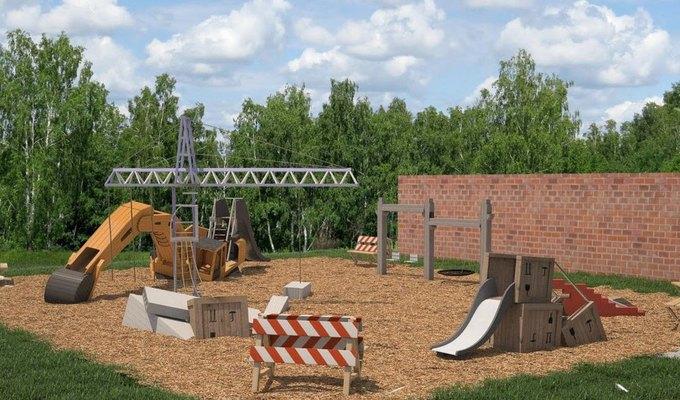 В Нескучном саду появится детская площадка «Стройка». Изображение № 1.