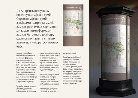 Для Андреевского спуска разработали систему навигации. Зображення № 2.