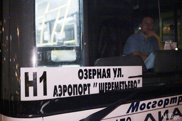 Фото дня: Первые ночные автобусы и троллейбусы в Москве. Изображение № 4.