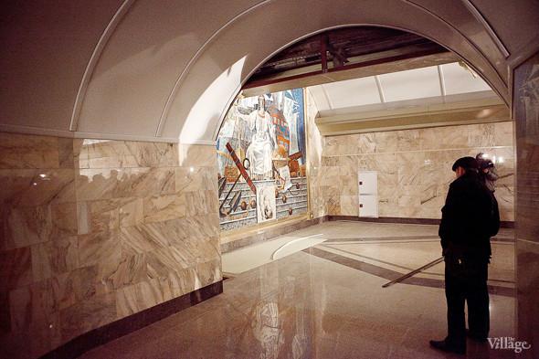Фоторепортаж: Станция метро «Адмиралтейская» изнутри. Изображение № 19.