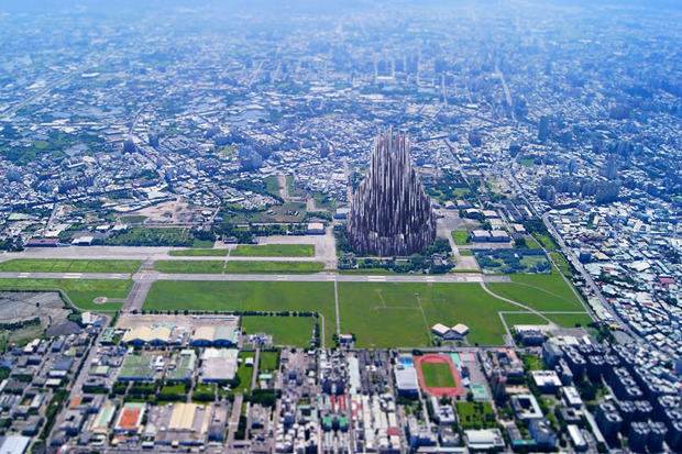 Иностранный опыт: 8 фантастических городских проектов. Изображение № 3.