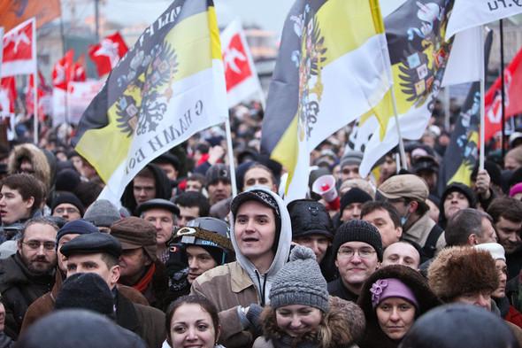 Фоторепортаж: Митинг против фальсификации выборов. Изображение № 35.