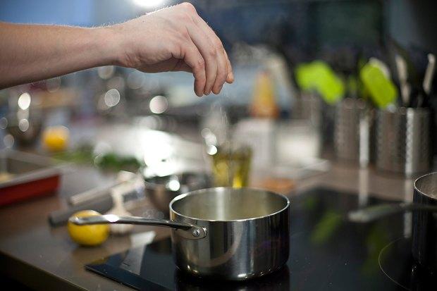 Шеф дома: Ягненок, хумус иоблепиховый десерт шефа «Стрелки». Изображение № 22.