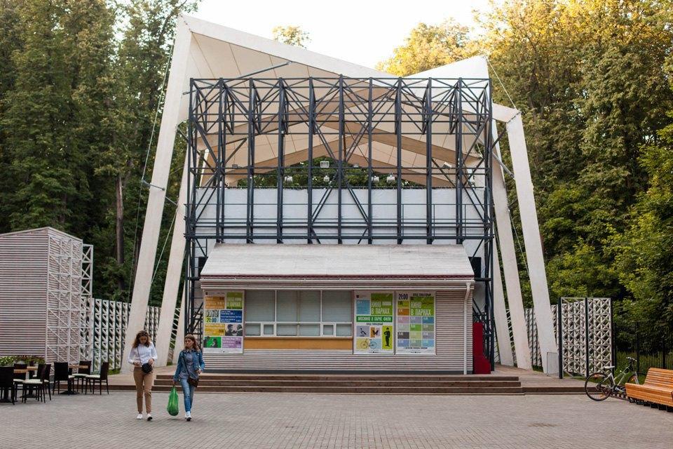 12 кинотеатров под открытым небом вМоскве. Изображение № 6.