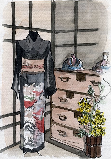 Клуб рисовальщиков: Выставка «Самураи. 47ронинов». Изображение № 12.