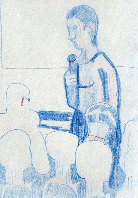 Клуб рисовальщиков: Лекция Линор Горалик. Изображение № 2.