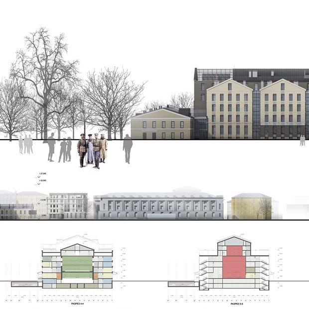 Определены сроки истоимость строительства «Театра Европы». Изображение № 5.