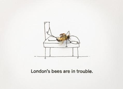 Постеры продолжают знаменитую серию работ шведского фотографа Магнуса Мура с мёртвыми мухами. Изображение № 3.