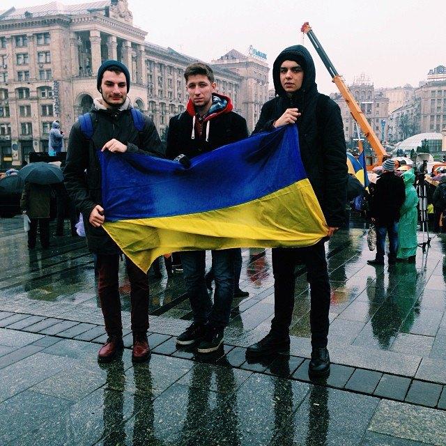 Митинг на Майдане в снимках Instagram. Изображение № 12.