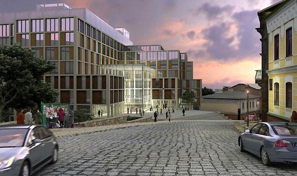 Владелец ЦУМа построит возле Андреевского спуска деловой центр. Изображение № 2.