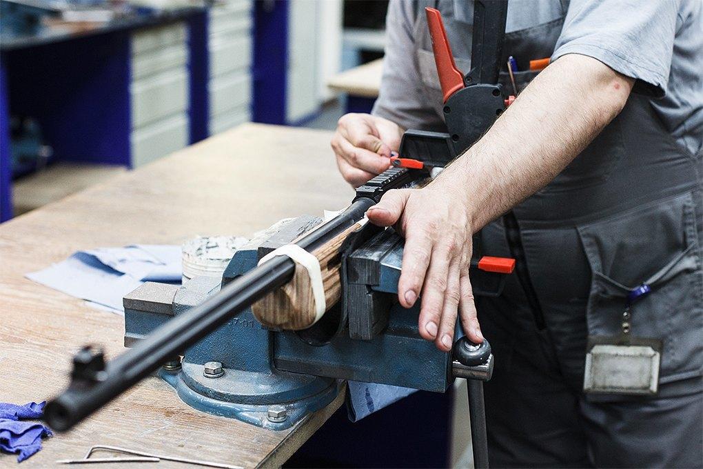 Производственный процесс: Как делают винтовки. Изображение № 33.