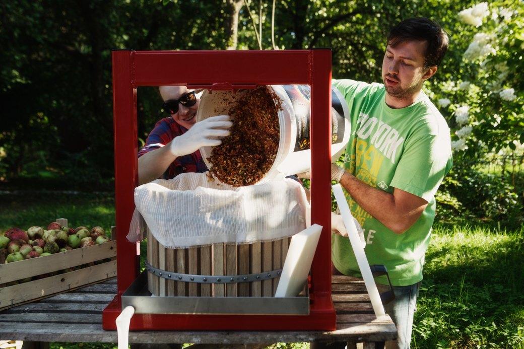 Партия «Яблоко»: Как организовать производство сидра на даче . Изображение № 5.