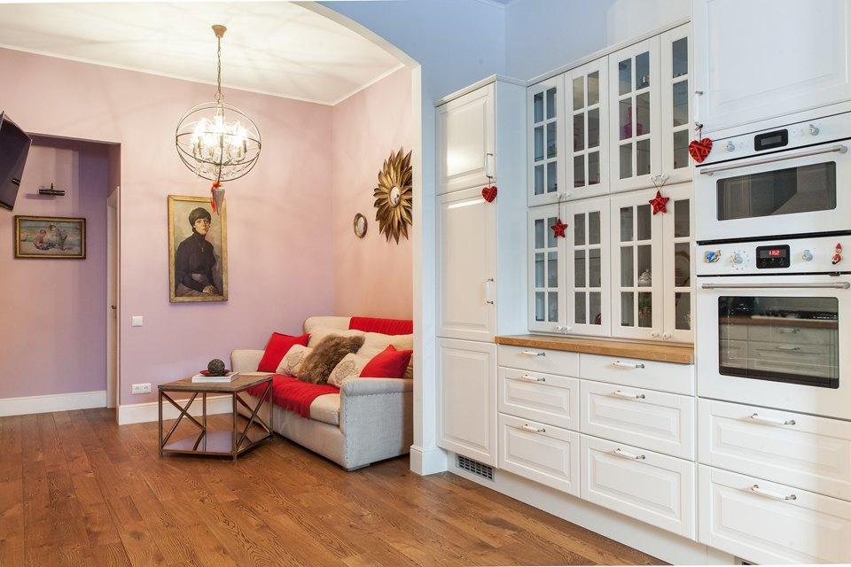 Трёхкомнатная квартира для молодой семьи напроспекте Мира. Изображение № 3.