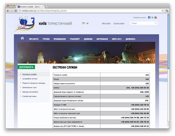 В Киеве запустили сайт для туристов. Зображення № 4.