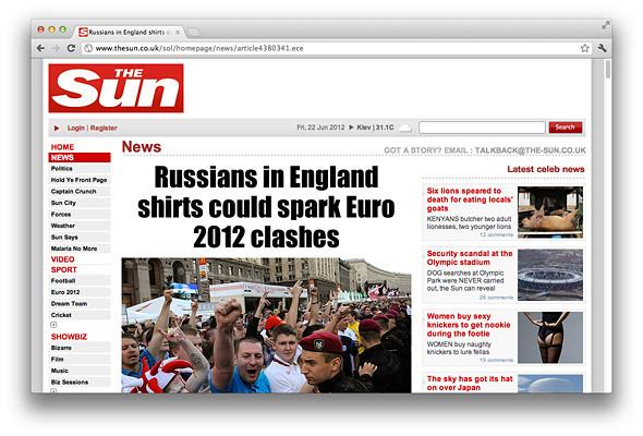 Другим тоном: Иностранные СМИ о Евро-2012 на Украине . Зображення № 5.