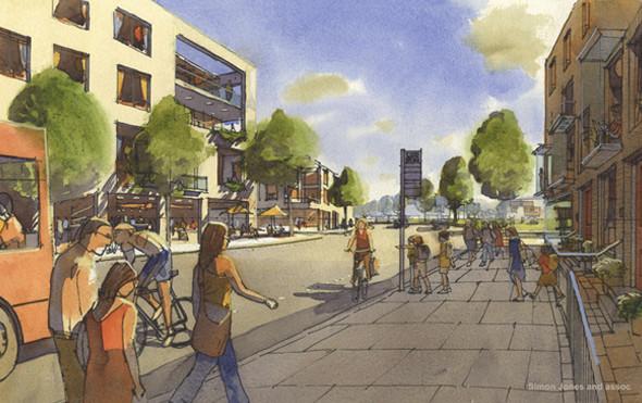 Изображение 73. Новый урбанизм: Города-спутники будущего. Часть 1.. Изображение №5.
