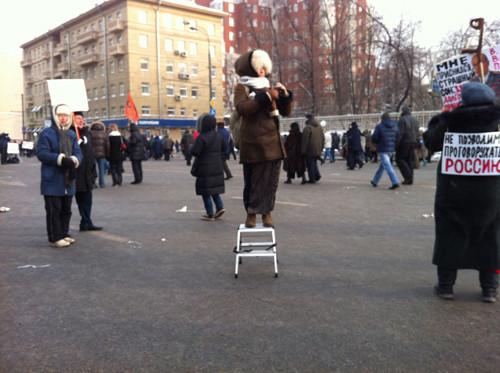 Онлайн-трансляция: Шествие и митинг «За честные выборы». Изображение № 76.