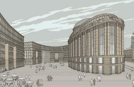 Проект «Набережная Европы», бюро «Герасимов и партнёры». Изображение № 2.