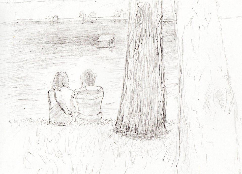 Клуб рисовальщиков: Патриаршие пруды. Изображение № 1.