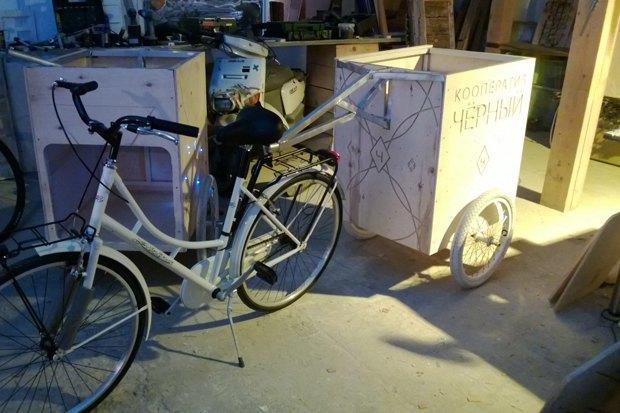 Кооператив «Чёрный» запускает велокофейню. Изображение № 1.