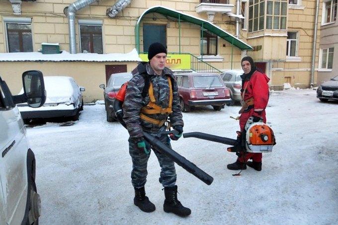 ВПетербурге коммунальщикам поручили купить воздуходувки для уборки снега. Изображение № 2.