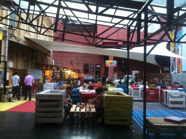 На «Красном Октябре» открылось летнее кафе Thor. Изображение № 4.