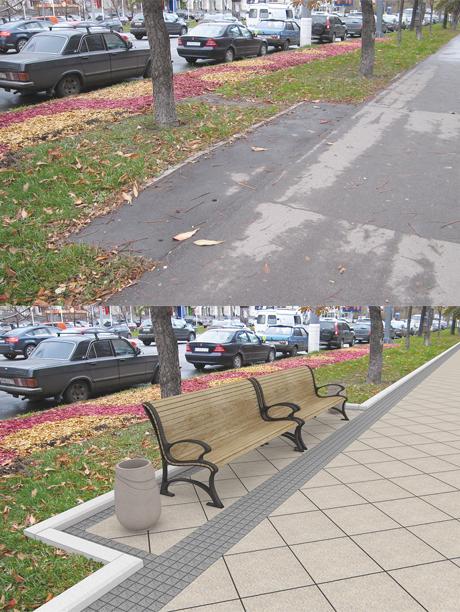Плитку в пределах Садового кольца уложат к 2016 году. Изображение №1.
