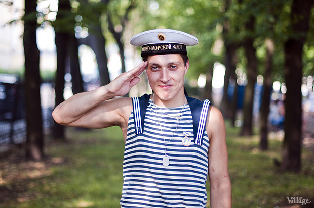 Фоторепортаж: День Военно-морского флота в Петербурге. Изображение № 10.