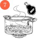 Рецепты шефов: Тёплый салат суткой, капустой, инжиром и яблоками. Изображение № 10.