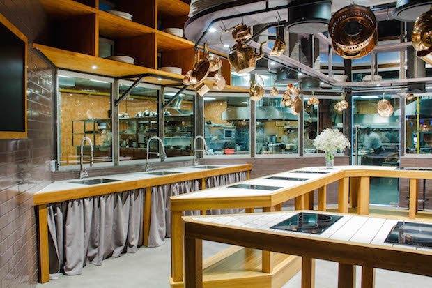 НаТверской улице открылась кулинарная студия «Чайхоны №1» под названием Live Kitchen. Изображение № 2.