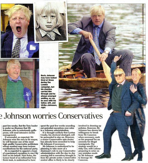 Клуб мэров: Борис Джонсон, Лондон. Изображение № 3.