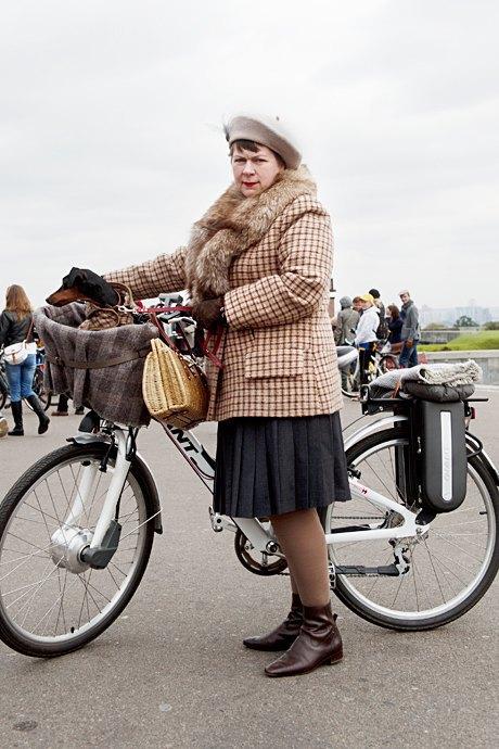 Твид выходного дня: Участники ретрокруиза — о своей одежде и велосипедах. Изображение № 13.