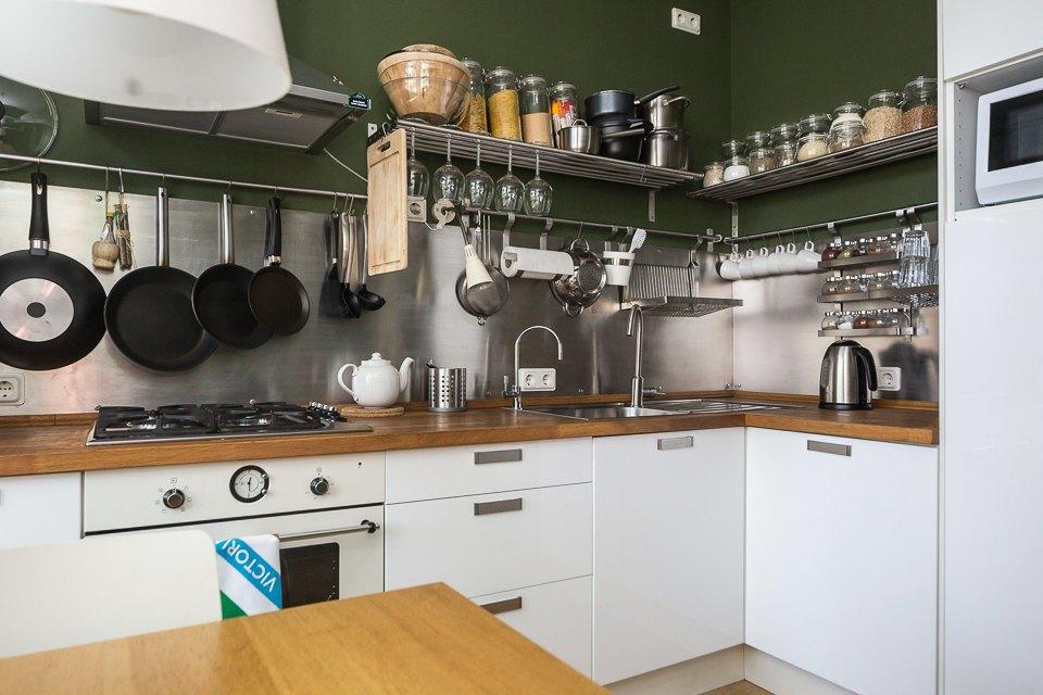 Квартира для молодой семьи вбывшей коммуналке . Изображение № 9.