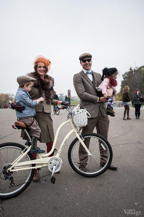 Second Time: В Киеве прошёл второй велокруиз в стиле ретро. Изображение № 21.