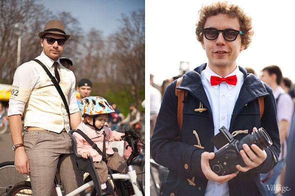 С твидом на город: Участники первого «Ретрокруиза»— о своей одежде и велосипедах. Изображение № 3.