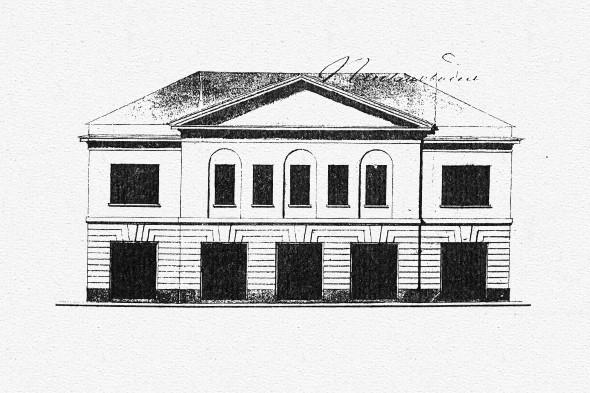 Фасад Белых палат. Изображение № 42.