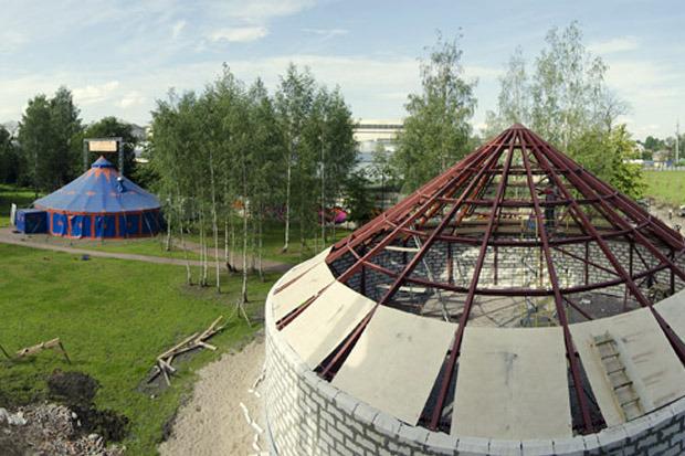 Новый шатер «Упсала-цирка» . Изображение № 1.