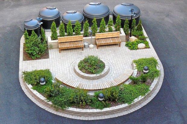 Идеи для города: Системы подземного сбора мусора. Изображение № 3.