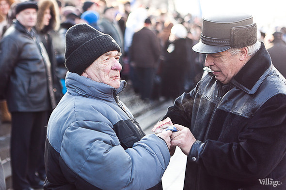 Фоторепортаж: Митинг в поддержку Путина в Петербурге. Изображение № 13.