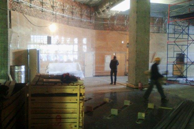 В Сети появились фотографии наземного вестибюля «Спасской». Изображение № 3.