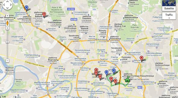 В Москве появились партизанские дорожные знаки. Изображение №13.
