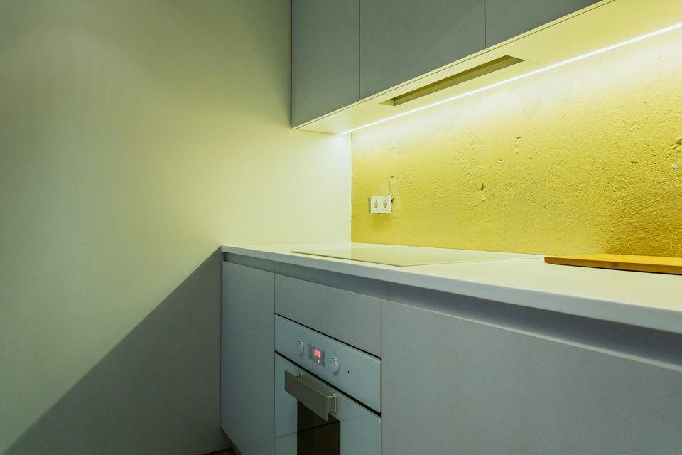 Двухэтажный лофт на «Рижской» сдагестанскими коврами. Изображение № 12.