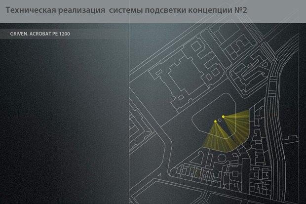 На ночь глядя: 12 проектов подсветки Главного штаба. Изображение № 22.