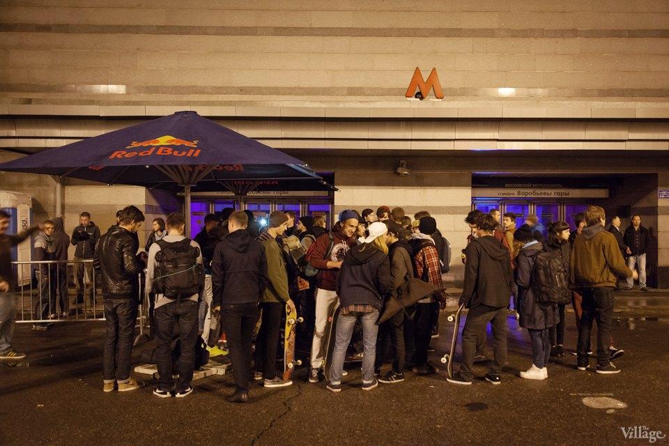 Фото ночи: Скейтерский чемпионат в метро. Изображение № 1.