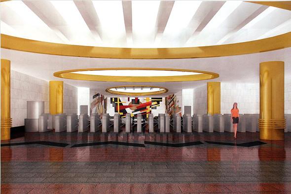 Станция метро «Международная». Изображение № 8.