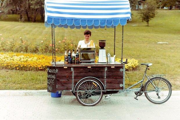 Личный опыт: Как превратить велосипед в кофейню на колесах. Изображение № 3.